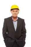 Senior man engineer Stock Photo