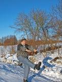 Senior man exercise 5 Stock Photo