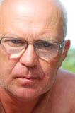 Senior man in glasses Royalty Free Stock Photo