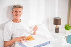 Senior man Stock Image