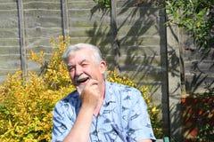Senior man happy. Stock Photos