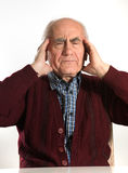 Senior man has problems Stock Photography