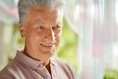 Senior man  at home Stock Image