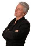 Senior man isolated Royalty Free Stock Images