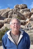 Senior Man at Joshua Tree National Park Stock Photos