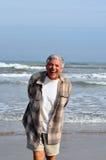 Senior man laughing Stock Photography