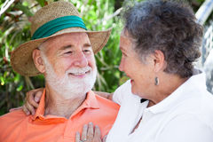 Senior Man in Love Stock Photos