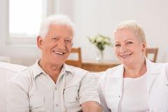 Senior man and mature woman Stock Photography
