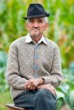 Senior man outdoor Stock Images
