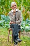 Senior man outdoor Stock Photos