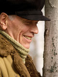 Senior man in the park Stock Photography