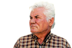 Senior Man Portrait Royalty Free Stock Photos