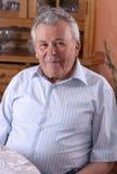Senior man portrait Stock Photos