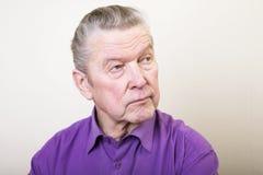 Senior man. Royalty Free Stock Photos