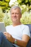 Senior man portrait Stock Photography