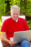 Senior man portrait Royalty Free Stock Photo