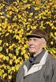 The senior man portrait Royalty Free Stock Image