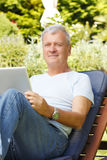 Senior man portrait Royalty Free Stock Images