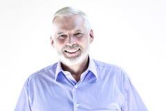 Senior man portrait smiling Royalty Free Stock Photography