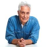 Senior man portrait. Stock Images