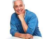Senior man portrait. Stock Photo