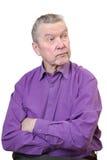 Senior man. Royalty Free Stock Photography