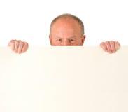 Senior man. Poster Stock Images