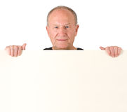 Senior man. Poster Royalty Free Stock Photography