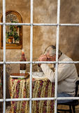 Senior Man Praying Stock Photos
