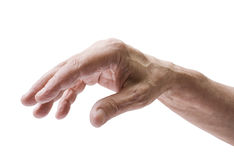 Senior man's hand Royalty Free Stock Photo