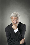 Senior man with sharp look Stock Image