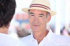 Senior man at summer Royalty Free Stock Photos