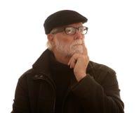Senior man thinking Stock Photos