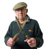 Senior man with tool Stock Photos