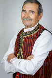 Senior man in traditional clothing Stock Photo