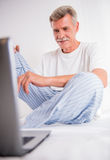 Senior man Stock Photography