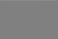 Senior man is walking his dog