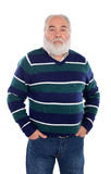 Senior man with white beard Royalty Free Stock Image