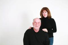 Senior man and wife Stock Photo