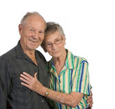 Senior man and woman Royalty Free Stock Photography