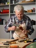 Senior man working Royalty Free Stock Images