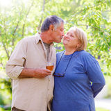 Senior married couple stock images