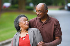 Senior Married Couple Royalty Free Stock Images
