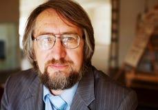 Senior mature professor Royalty Free Stock Photos