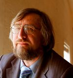 Senior mature professor. Closeup portrait of a senior mature professor rr stock photo