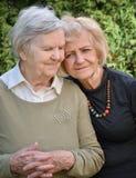Senior and mature women. Stock Images