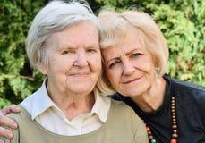 Senior and mature women. Stock Photos