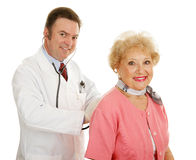 Senior Medical - Annual Physical Stock Images