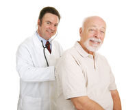 Senior Medical - Doc & Patient Royalty Free Stock Images