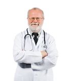 Senior medical doctor on clinic Royalty Free Stock Photos